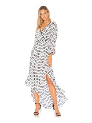 Diane von Furstenberg Asymmetrical Wrap Dress
