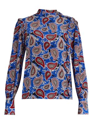 Dodo Bar Or Patti paisley-print silk blouse