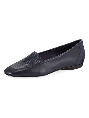 Donald J Pliner Deedee Slip-On Mixed Leather Flat