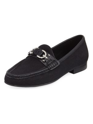 Donald J Pliner Suzy Canvas Comfort Loafer