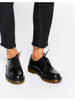 Dr Martens 1461 classic black flat shoes