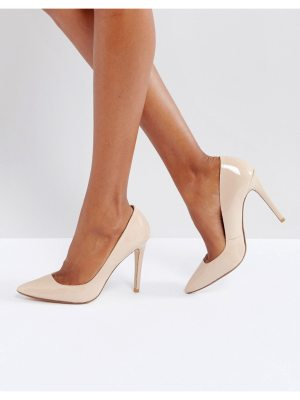 Dune London Aiyana Leather Heeled Shoes