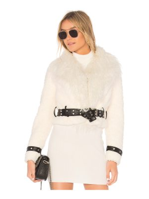 EAVES Caden Faux Fur Jacket