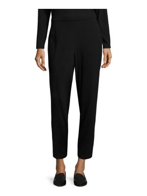 Eileen Fisher system slim slouchy jersey pants