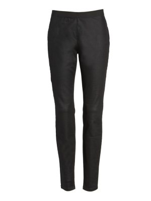 Eileen Fisher stretch twill leggings