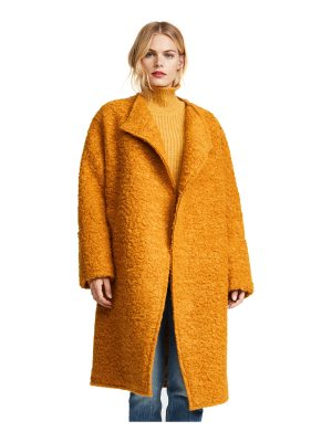 Elizabeth and James palmoa coat