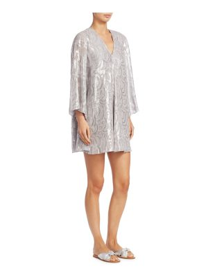 Elizabeth and James silk paloma jacquard tunic
