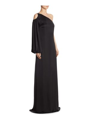 Elizabeth and James tiana one-shoulder gown