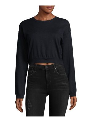 Equipment Cashmere Blend Cropped Sweater