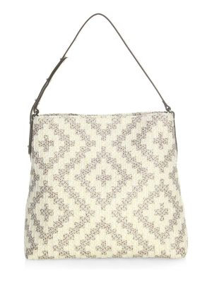 Eric Javits squishee up woven tote