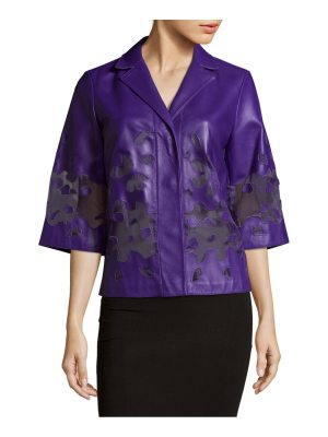 Escada Lobelia Notch Lapel Blazer