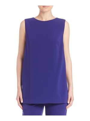 Escada Solid Back Paneled Top