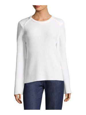 Escada wool bell sleeve top