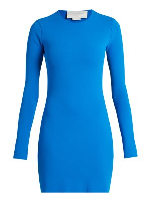 ESTEBAN CORTÁZAR Cut-out back crepe-knit dress