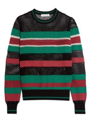 Etoile Isabel Marant deacon striped knitted sweater
