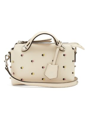 Fendi By The Way crystal-embellished mini leather bag