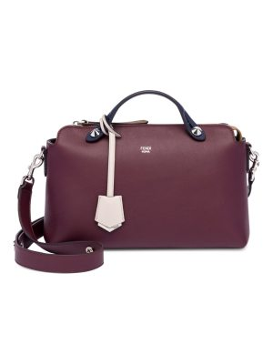 Fendi small by the way leather satchel