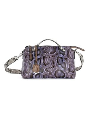 Fendi By the Way Small Python Satchel Bag