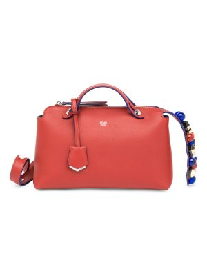 Fendi by the way small studded leather satchel