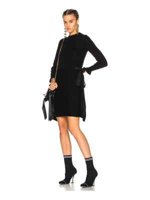 Fendi Long Sleeve Sweater Dress