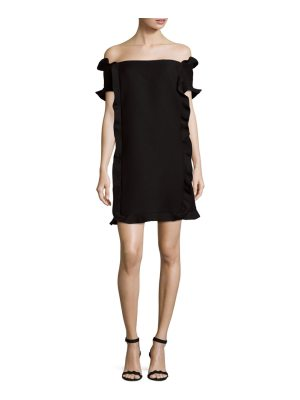 Fendi Off-The-Shoulder Dress
