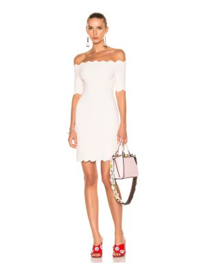 Fendi Off the Shoulder Mini Dress