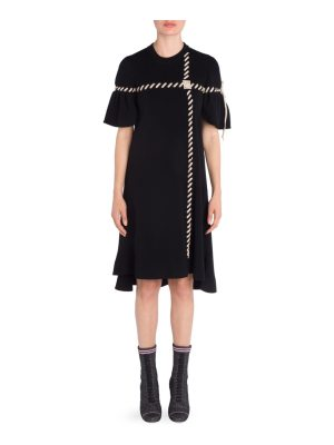 Fendi stitch rib knit dress