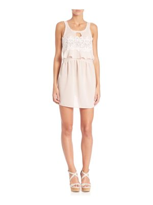 For Love & Lemons Sienna Sleeveless Keyhole Dress