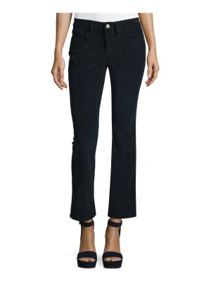 FRAME Le Crop Mini Boot-Cut Corduroy Pants