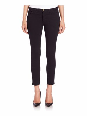 FRAME le cropped mid-rise skinny jeans