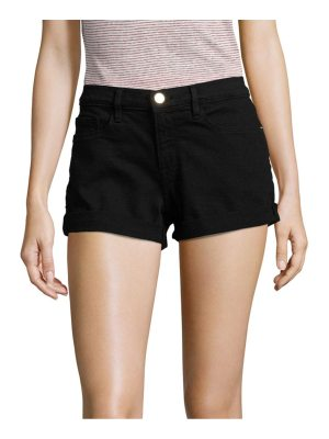 FRAME le cut off mid-rise denim shorts