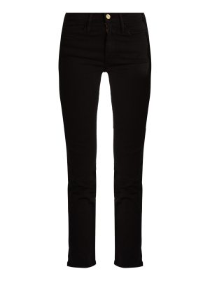 FRAME Le High straight-leg cropped jeans