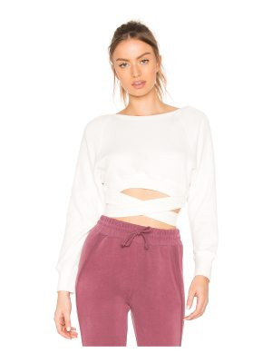 Free People Superwoman Sweat Top