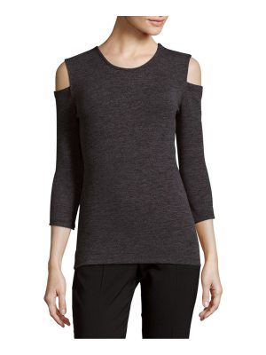 French Connection Sweeter Cold-Shoulder Sweater