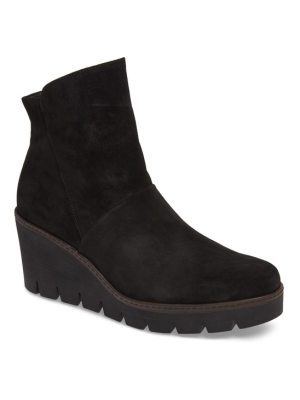 Gabor wedge bootie