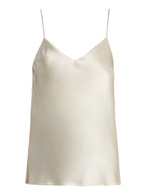 Galvan London V-neck satin cami top