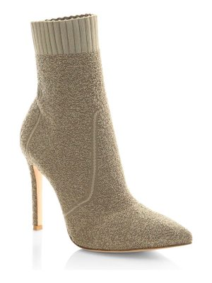 Gianvito Rossi knit boucle sock booties