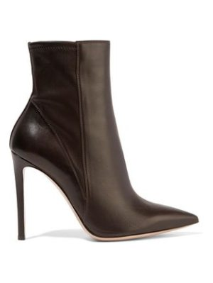 Gianvito Rossi leather ankle boots