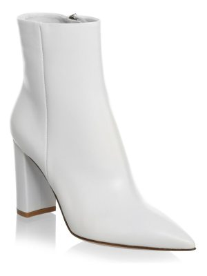 Gianvito Rossi piper block-heel leather ankle boots