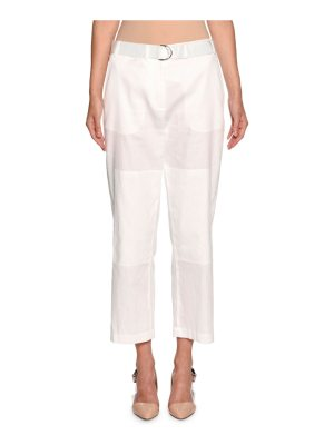 Giorgio Armani Belted Cropped Utility Pants
