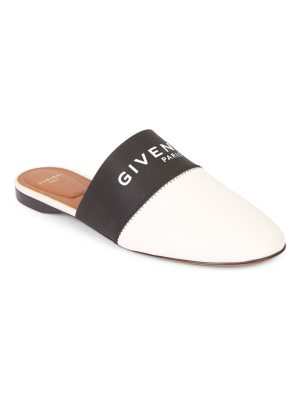 Givenchy bedford flat leather mules
