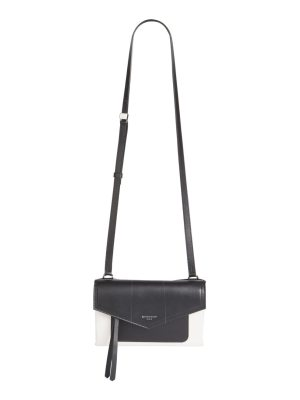 Givenchy duetto two-tone leather crossbody bag
