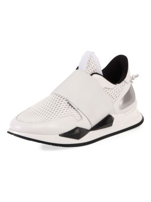 Givenchy Stretch-Mesh Slip-On Runner Sneaker