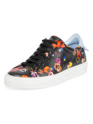 Givenchy Urban Knots Floral-Print Low-Top Sneaker