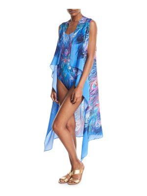 Gottex Dream Catcher Silk Pareo Coverup