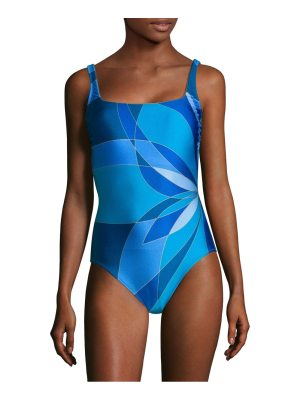 Gottex Swim one-piece squareneck swimsuit