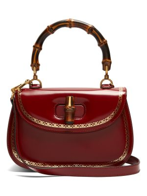 Gucci Bamboo-handle leather bag
