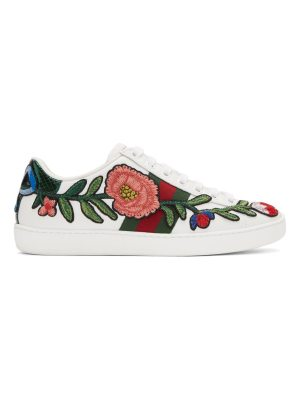 Gucci Floral Ace Sneakers