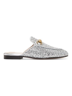 Gucci Glitter Princetown Slippers