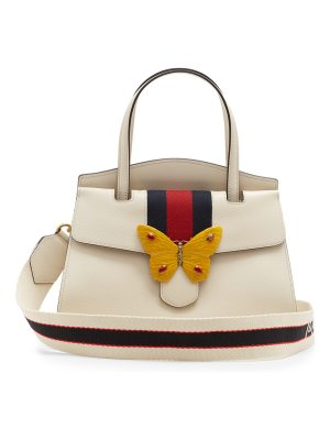 Gucci guccitotem grained leather bag